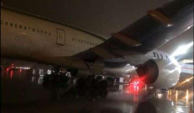 کراچی سے اسلام آباد جانے والا پی آئی اے کا طیارہ دوران پرواز حادثے کا ..
