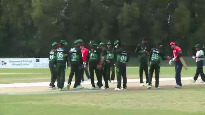 پاک انگلینڈ بلائنڈ T20بین الاقوامی سیریز :گرین شرٹس نے انگلینڈ کو وائٹ ..