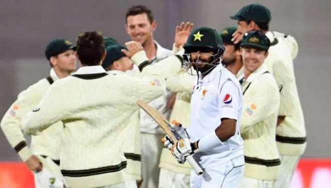 پاکستان کو آسٹریلیا سے ایکبار پھر ٹیسٹ سیریز میں کلین سویپ کی ہزیمت ..