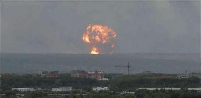 روس کی ایٹمی ہتھیار بنانے والی لیبارٹری میں دھماکا