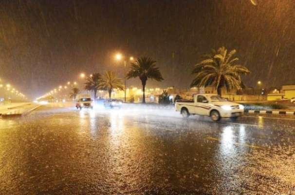 سعودی عرب میں محکمہ موسمیات کا شدید بارش کا الرٹ جاری