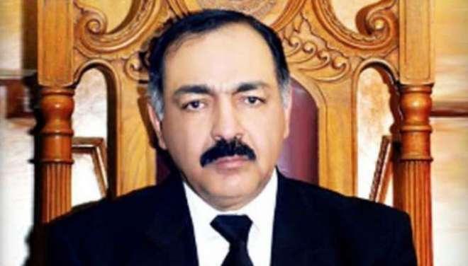گورنر بلوچستان امان اللہ یاسین زئی سے وفاقی وزیر داخلہ بر یگیڈئر (ر)اعجاز ..
