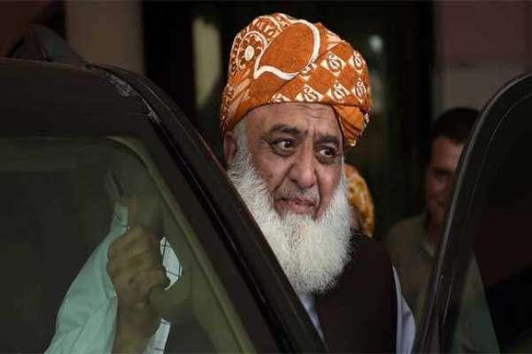 پاک فوج کیخلاف تقریر پر مولانا فضل الرحمان کے خلاف کارروائی کے لیے ..