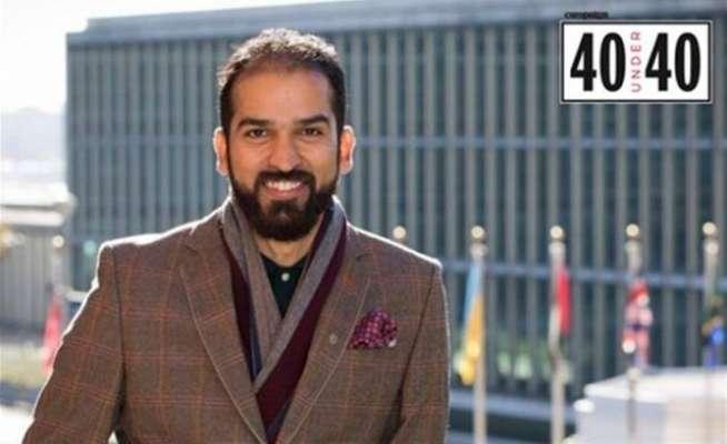 فہد قادر ایشیاء پیسفک ریجن میں 40 سال سے کم عمر قائدین کی فہرست میں شامل ..