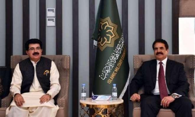 جنرل راحیل شریف کی چیئر مین سینٹ سے ملاقات ،اہم بین الاقوامی امور پر ..
