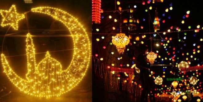 جشن عید میلادالنبی ﷺ منانے کا اہتمام کراچی کے ہر گلی ہر کوچے،مسجد،مدرسے ..