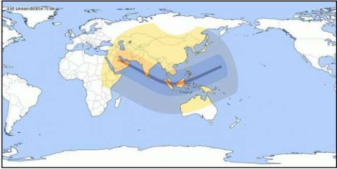 26 دسمبر کوآدھی دنیا تاریخی میں ڈوب جائیگی