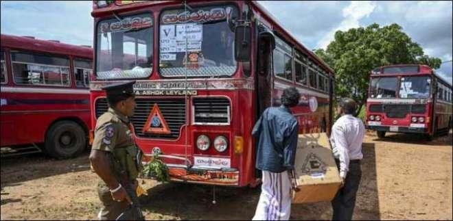 سری لنکا میں مسلم ووٹرز کی بسوں پر فائرنگ