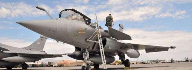 فرانس نے پہلے رافیل طیارے آر بی-001 کو بھارتی فضائیہ کے ڈپٹی ایئر چیف ..