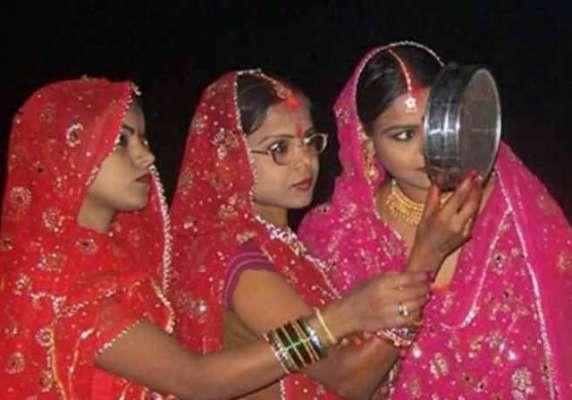 تین سگی بہنوں کا ایک ہی شوہر سوشل میڈیا پر وائرل