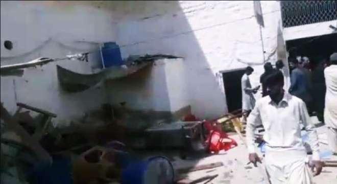 گھوٹکی میں مبینہ طور پر توہین مذہب کے واقعے کے بعد حالات کشیدہ ،شہریوں ..