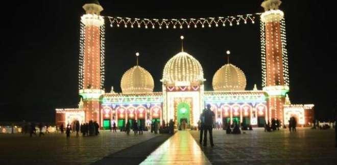 جشن عید میلادالنبیﷺ کا مرکزی جلوس جامع مسجد کھوکھرانوالی سے برآمد