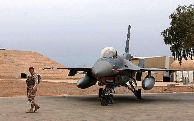 عراق میں امریکی ایئر بیس کو مارٹر گولوں کا سامنا