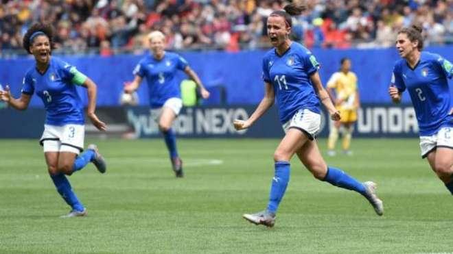 2019ء فیفا ویمنز ورلڈ کپ، اٹلی اور برازیل کی ٹیموں کا اپنے اپنے میچز جیت ..