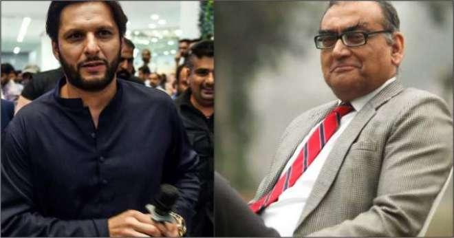 مسلمانوں کی حمایت کرنے والے بھارتی سابق جسٹس کو شاہد آفریدی پرتنقید ..