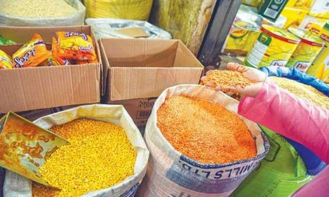 گزشتہ ہفتہ ،چینی اور دالوں سمیت 24اشیا ضروریہ 5فیصد سے زائد مہنگی