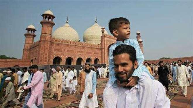 ملک بھر میں شہر شہر ،قصبہ قصبہ ،گائوں گائوں اور گلی محلوں میں نماز عید ..