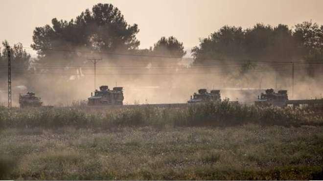 ترکی نے شام میں اپنی فوجی داخل کر دی، ترک فضائیہ کی بھی شام کی سرحد کے ..