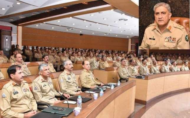 جی ایچ کیو میں سالانہ فارمیشن کمانڈرز کانفرنس ۔ آئی ایس پی آر