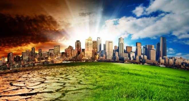 ماحولیاتی تبدیلیوں سے انسان کی بقاءخطرے میں'کرہ ارض کے درجہ حرارت ..