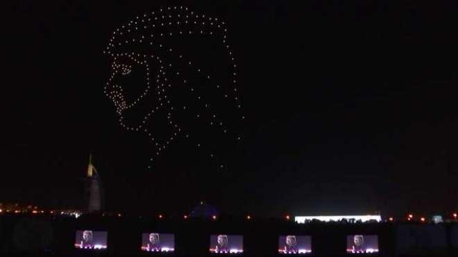 متحدہ عرب امارات کے ڈرون شو میں نیا گینیز ورلڈ ریکارڈ قائم