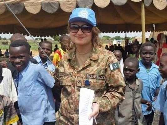 اقوام متحدہ کی امن فوج میں پاکستانی خواتین اہلکاروں کی تعداد میں اضافہ