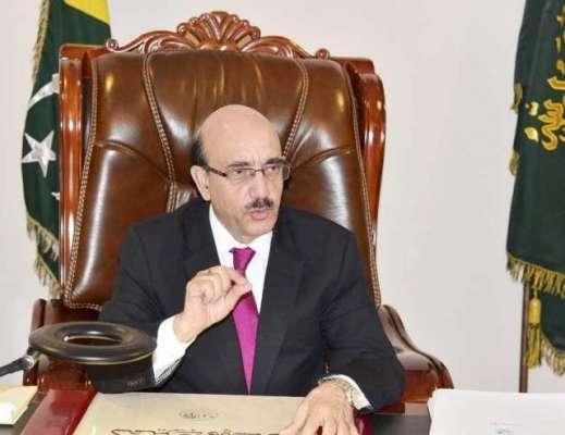 صدر سردار مسعود خان او آئی سی اجلاس میں شرکت کے لیے جدہ پہنچ گئے