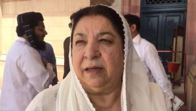وزیرصحت پنجاب ڈاکٹریاسمین راشدکاگنگارام ہسپتال کے بچہ وارڈ کادورہ