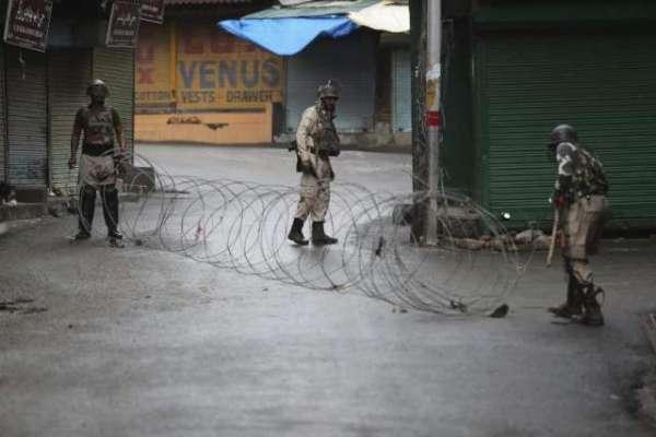 قابض بھارتی فوج نے مقبوضہ کشمیر میں فائرنگ کرکے کشمیری نوجوان کو شہید ..