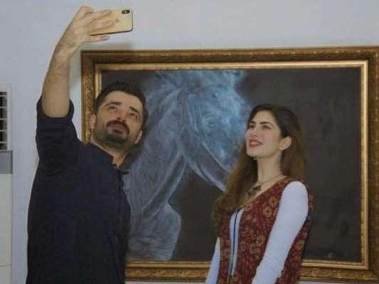 اداکار حمزہ علی عباسی اور اداکارہ نیمل خاور کی شادی طے پاگئی