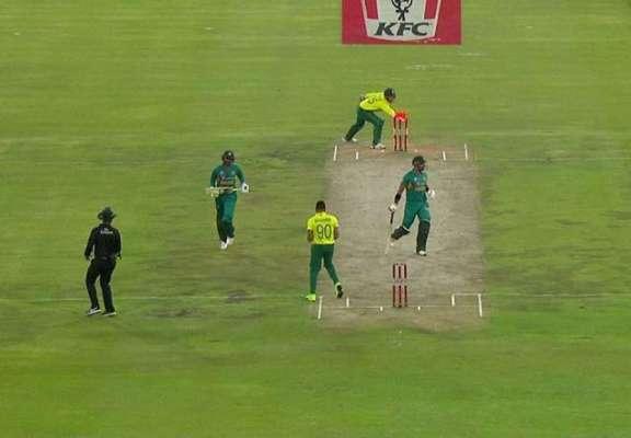تیسرا ٹی ٹوئنٹی، شاداب خان کی دھواں دار بلے بازی کے باعث پاکستان جنوبی ..