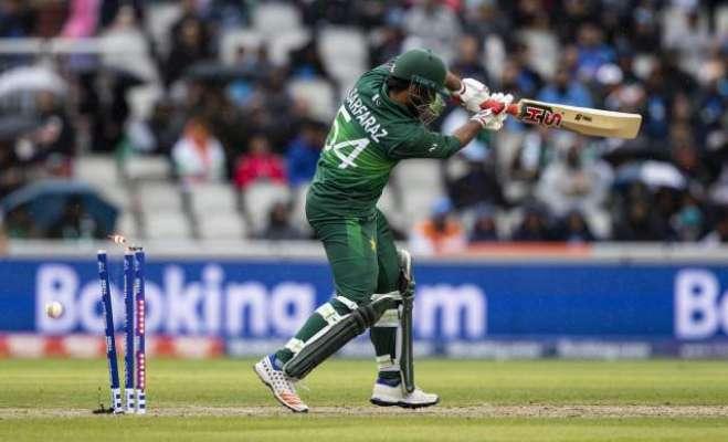 ورلڈ کپ ، بھارت نے پاکستان کو ڈک ورتھ لوئیس میتھڈ کے تحت 89رنز سے شکست ..