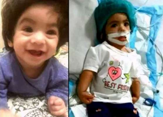 غلط انجکشن سے متاثر ہونے والی 9 ماہ کی بچی نشوا زندگی کی بازی ہار گئی