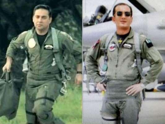 بھارتی جنگی طیارے مار گرانے والے ونگ کمانڈر محمد نعمان علی کو ستارہ ..
