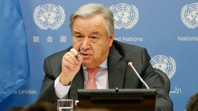 بھارت نے کشمیر پر اقوام متحدہ کے سیکرٹری جنرل کی ثالثی پیشکش رد کردی
