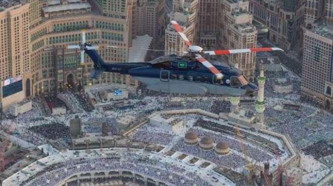 مکہ المکرمہ، رمضان کے آخری عشرے کے لئے فضائی نگرانی کے عمل کو بڑھا ..