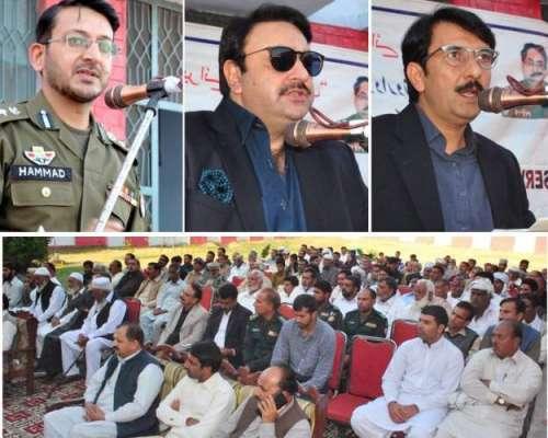 حکومت پنجاب کے احکامات پر کھلی کچہری کا انعقاد سائلین کے مسائل سن کر ..