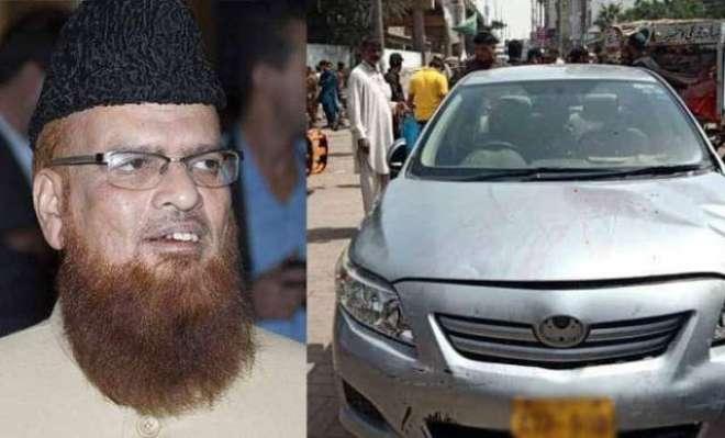 کراچی، مفتی تقی عثمانی کے قافلے پر دوبارفائرنگ ،2 محافظ جاں بحق، ممتاز ..