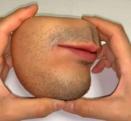 جاپانی فنکار نے حیرت انگیز انسانی چہرہ نما پرس  بنا لیا