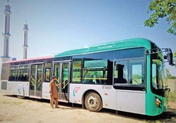 پشاور بی آر ٹی بس سروس معطل کردی گئی