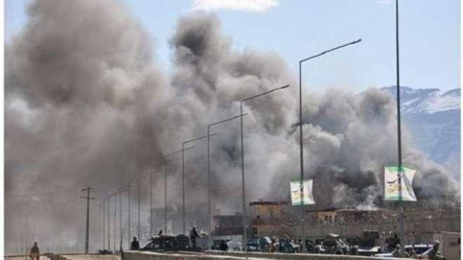 نائن الیون کی اٹھارویں برسی پر کابل میں امریکی سفارت خانے پر راکٹ حملہ