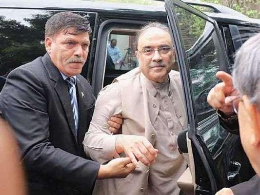 سابق صدر آصف علی زرداری کا دس روزہ جسمانی ریمانڈ منظور