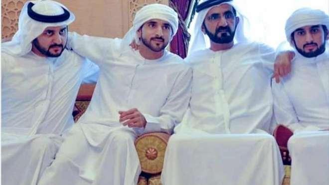 تین اماراتی شہزادے ایک ہی روز شادی کے بندھن میں بندھ گئے