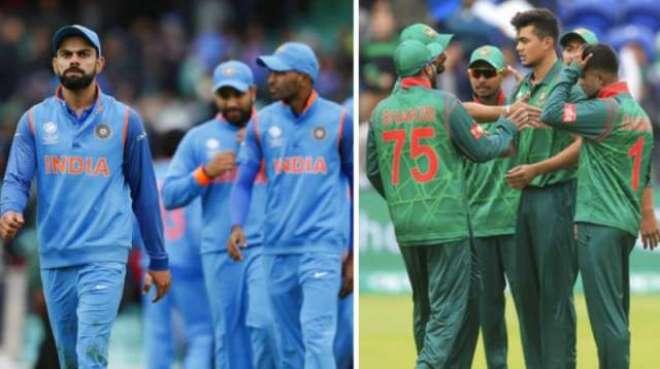بھارت اور بنگلہ دیش کے درمیان فیصلہ کن ٹی 20 انٹرنیشنل کل کھیلا جائے ..