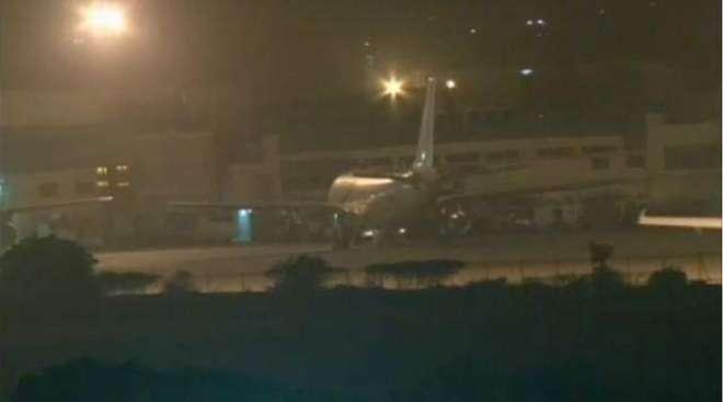 ٖجناح انٹرنیشنل ائیرپورٹ کراچی پر فل اسکیل سیکورٹی ایکشن