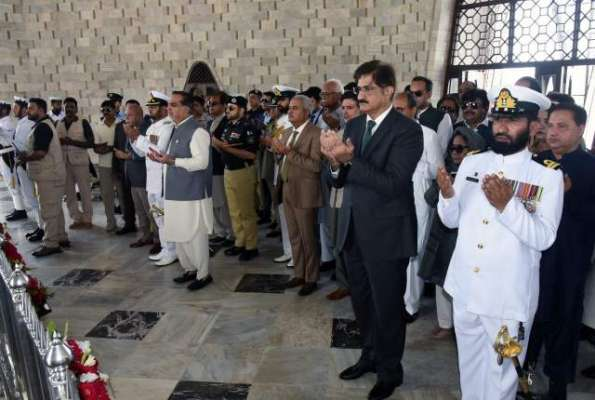 بانی پاکستان کی71ویں برسی