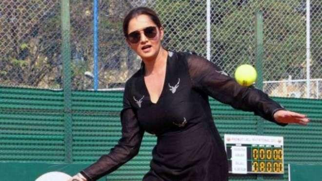 ثانیہ مرزا کا اگست تک ٹینس کورٹس میں واپسی کے عزم کااظہار