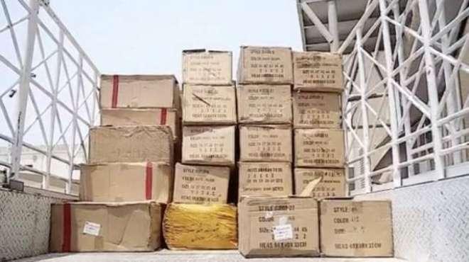 شارجہ میں دو ہزار کلو سے زائد ممنوعہ پان پراگ برآمد
