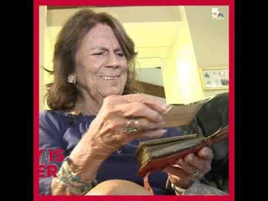 چوری ہونے والا پرس 75 سال بعد خاتون کو واپس کر دیا گیا