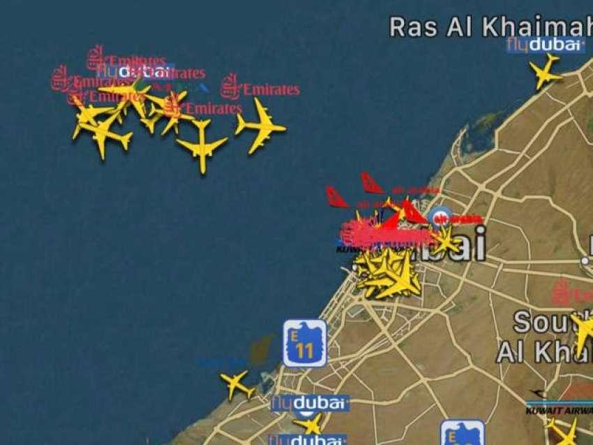 دبئی انٹر نیشل ائیر پورٹ پر تمام آپریشن معطل